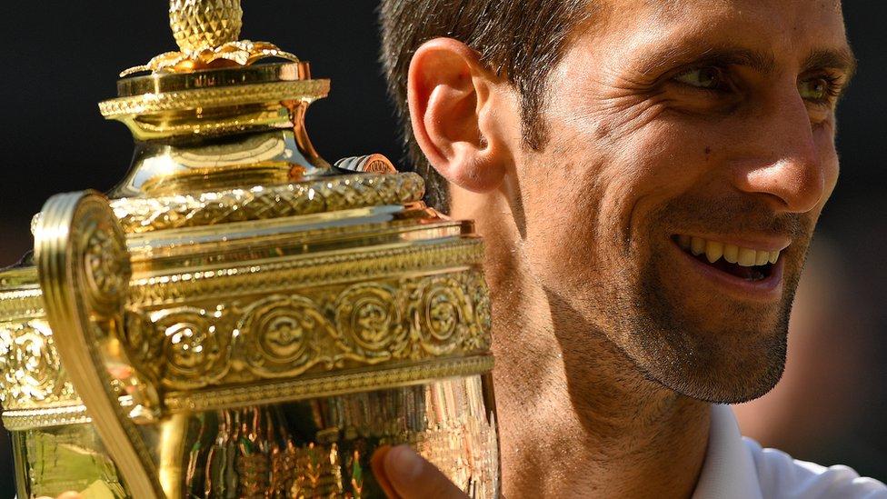 Đoković na Vimbldonu brani trofej iz prošle godine/Getty Images