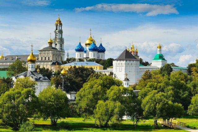 Manastir Trojice - Sergijeva lavra / Foto: Depositphotos/ProfStocker