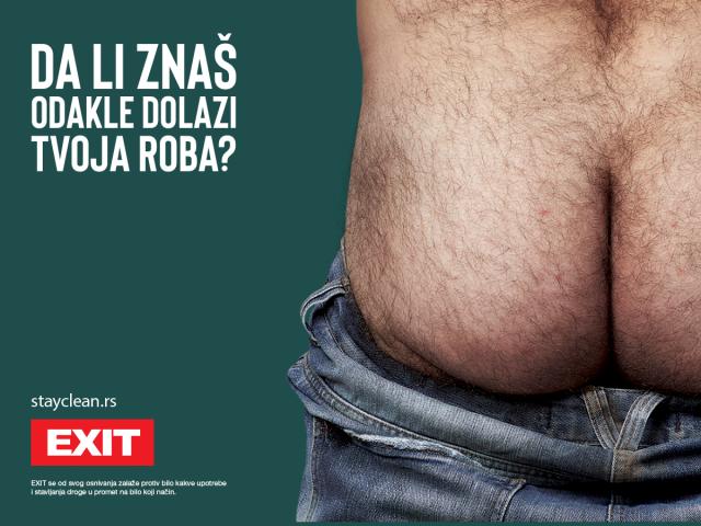 """Exit na duhovit način u novoj društvenoj kampanji poručio: """"Ostanimo čisti"""""""