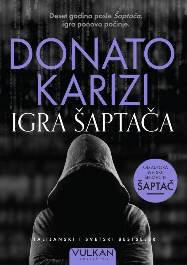 Novi roman izvanrednog Donata Karizija: Igra Šaptača