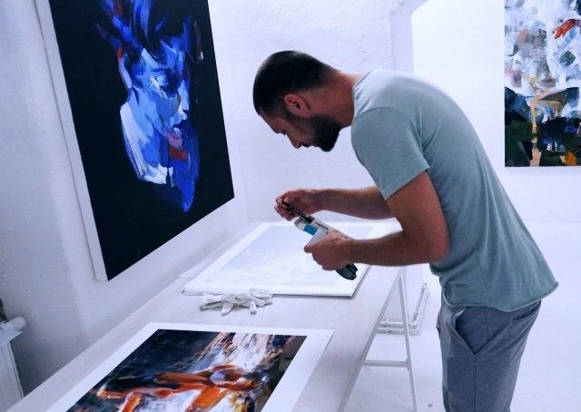 Velika izložba srpskog slikara u Minhenu FOTO
