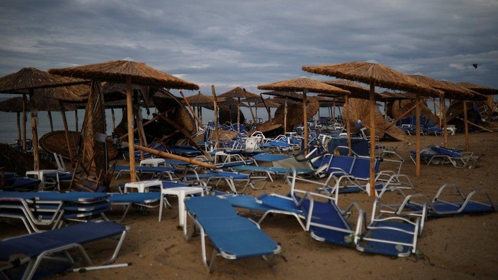 Posledice nevremena/Reuters