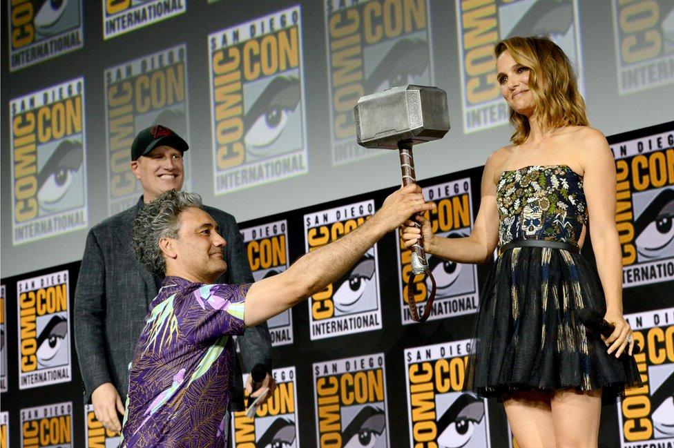 Natali Portman preuzima Torov čekić poverenja/Getty Images