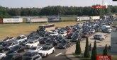 Saobraćaj u Srbiji umerenog intenziteta