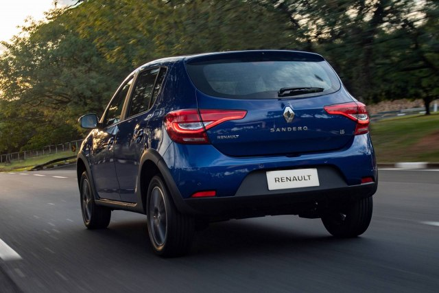 Brazilski Sandero - redizajn (Foto: Renault promo)