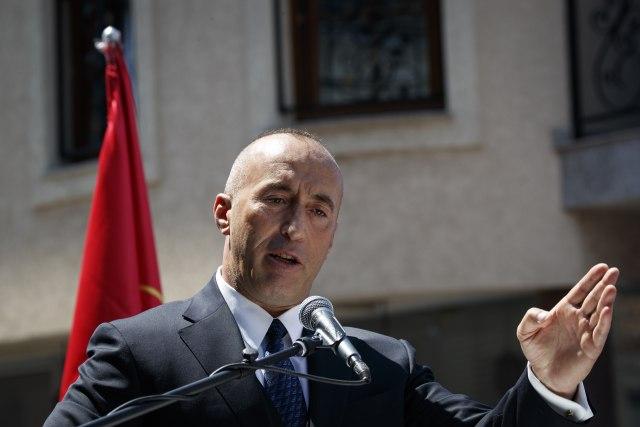 Kad Haradinaj navija, na kratko VIDEO
