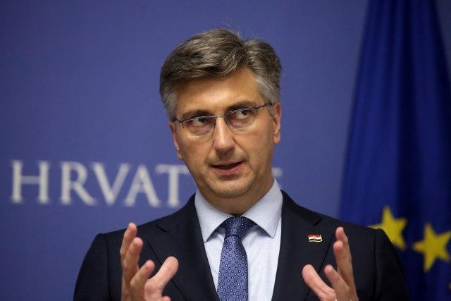 Plenković: Verujem da se predsednica šalila