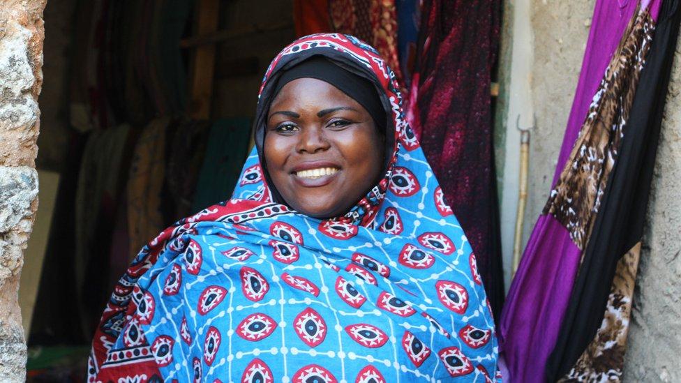 Žena u Zanzibaru/Branka Babić Karajica