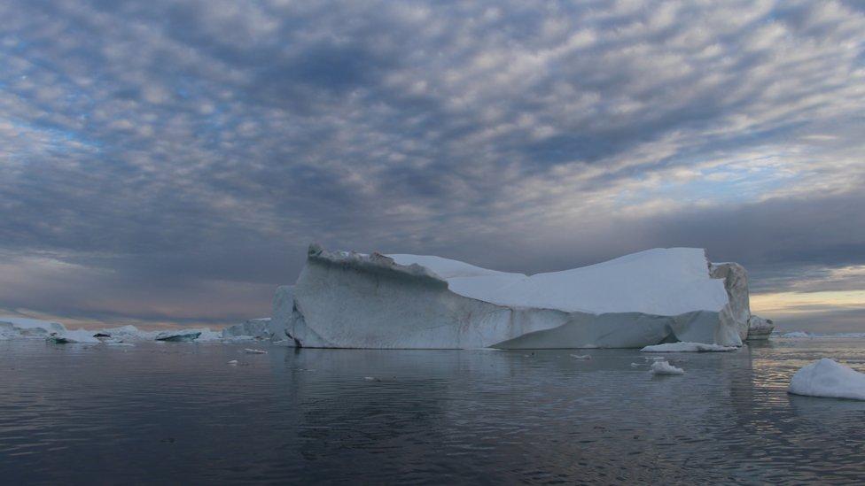 Fjord Ilulisat na Grenlandu/Branka Babić Karajica