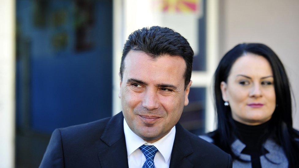 Zoran i Zorica Zaev zajedno su od srednje škole/TOMISLAV GEORGIEV/AFP/Getty Images