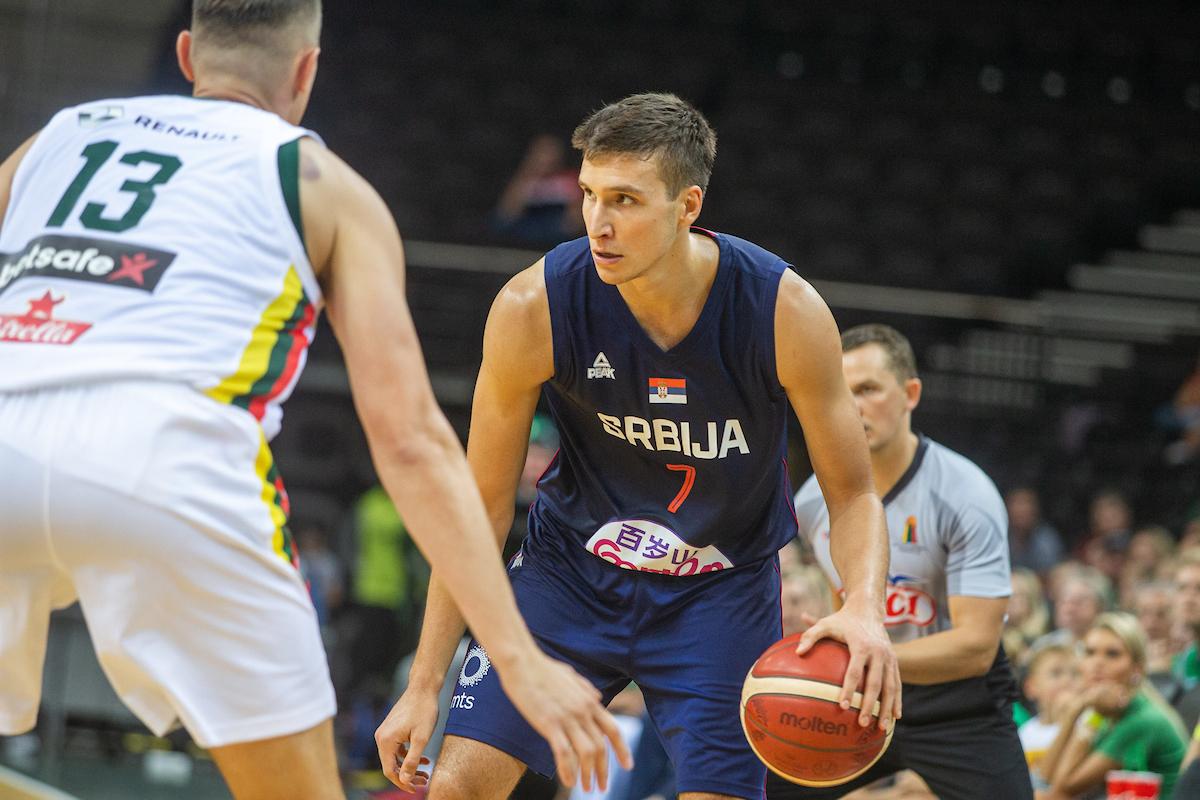 Bogdanović Ubacio 27 Srbija Opet Dobila Litvaniju B92net