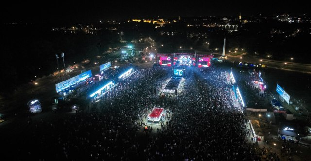 Završen Music Week festival: Preko 300.000 ljudi uživalo je u bogatom muzičkom programu