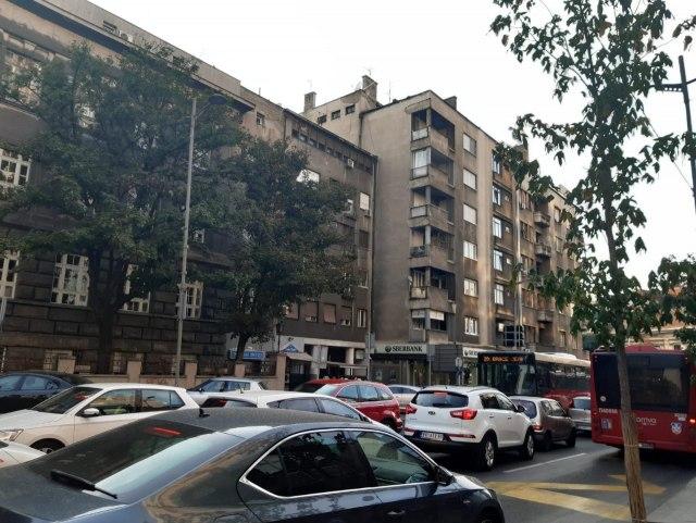 Krkljanac u centru Beograda, na Pančevcu kolaps FOTO
