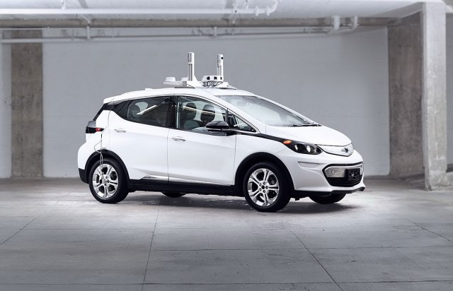 Chevrolet Bolt - testno autonomno vozilo (Foto: General Motors promo)