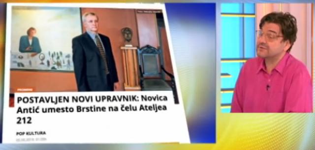 """Novi upravnik Ateljea 212: """"Radiću u interesu pozorišta"""""""
