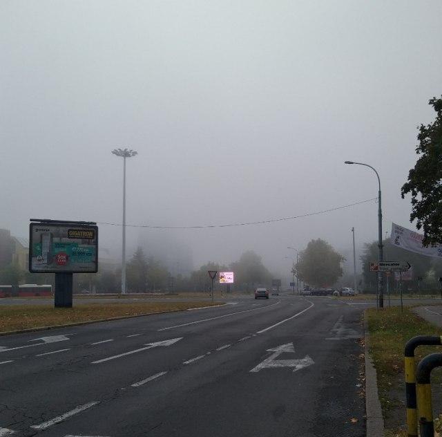 AMSS uopzorava: Vozite pažljivo - magla otežava vidljivost, kolovozi su mokri