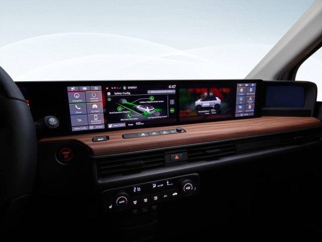 Potpuno digitalna komandna tabla (Foto: Honda promo)