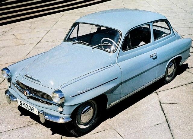 Originalna Škoda Octavia iz 1959. (Foto: Škoda promo)