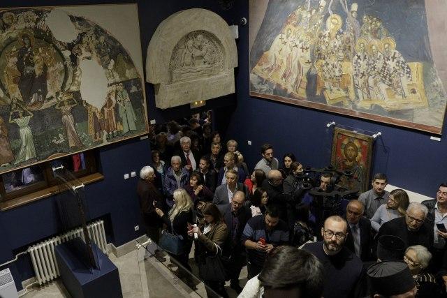 """Otvorena izložba """"Osam vekova umetnosti pod okriljem Srpske pravoslavne crkve"""""""