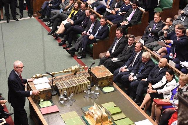 EPA-EFE/ Mandatory credit UK Parliament Jessica Taylor