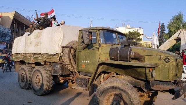 Kurdima upućeno upozorenje, ruska vojna policija stigla u Kobani