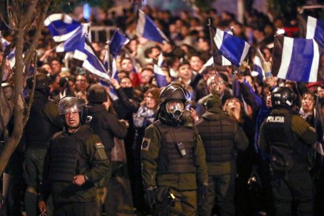Morales: Proces državnog udara je u toku