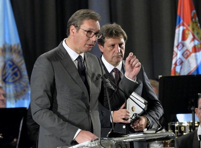 Vučić na proslavi Dana BIA: Pred nama je teška situacija i brojni izazovi FOTO VIDEO