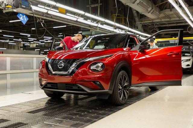 Sunderland factory - Juke 2 production (Photo: Nissan promo)