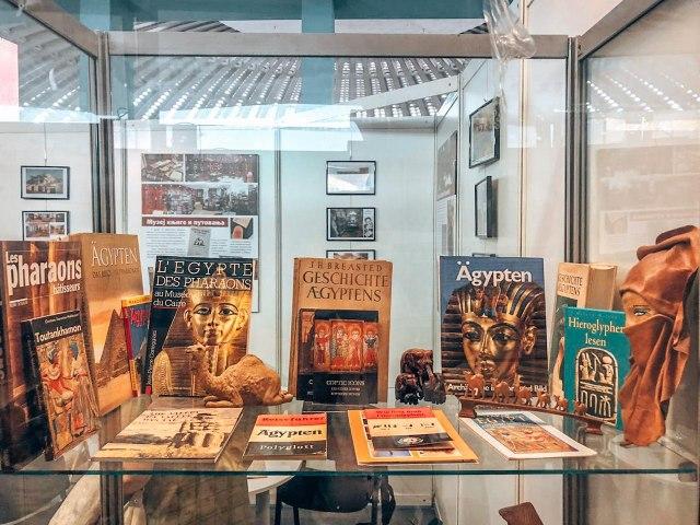 Najveća zbirka knjiga iz Egipta u Srbiji je u Adligatu