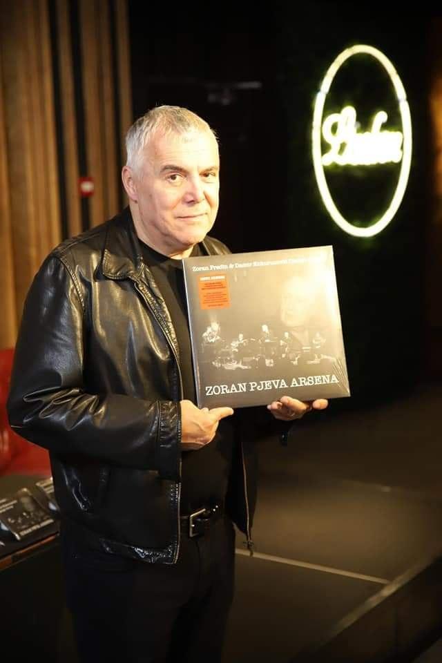 """Koncert """"Zoran peva Arsena"""" 15. novembra"""