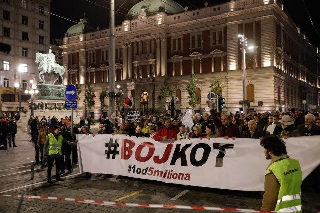 """Održan protest """"1 od 5 miliona"""""""