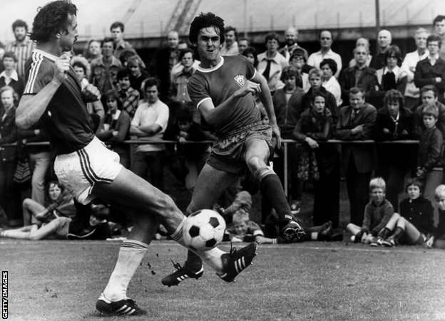 Šlegel na utakmici iz 1981./Getty Images