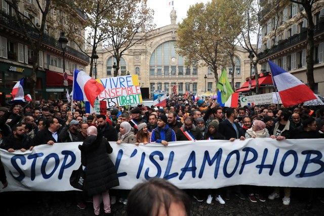 Marš protiv islamofobije nakon napada na džamiju FOTO