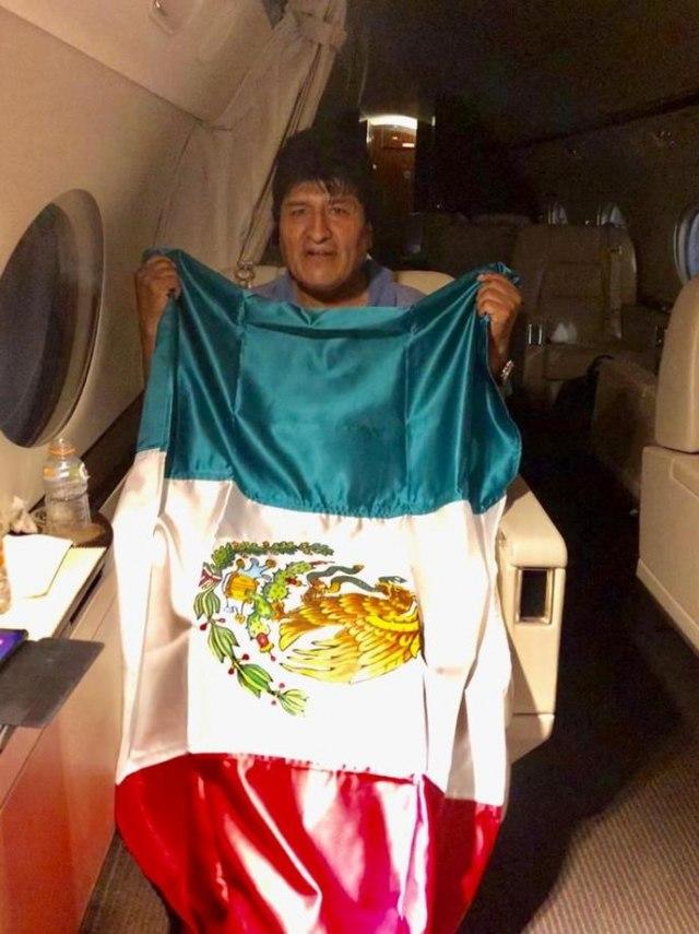 Problemi za Moralesa na putu za Meksiko