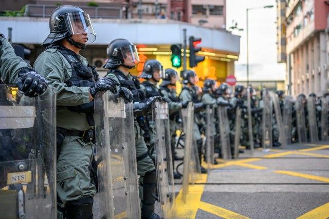 Novi sukob policije i demonstranata u Hongkongu