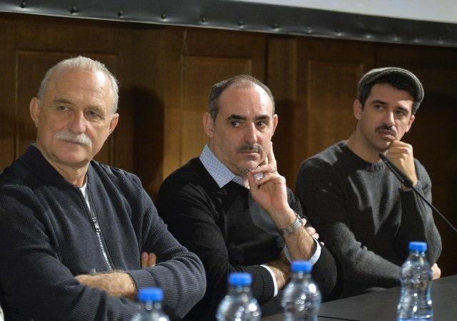 """Ristovski sa italijanskim kolegama predstavlja film """"Čovek koji je kupio Mesec"""""""