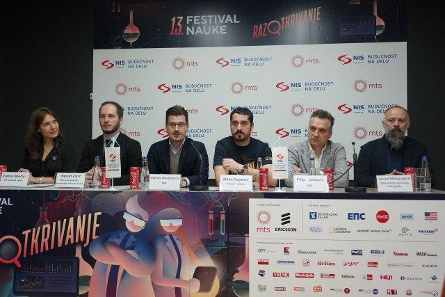 Festival nauke od 5. do 8. decembra na Beogradskom sajmu