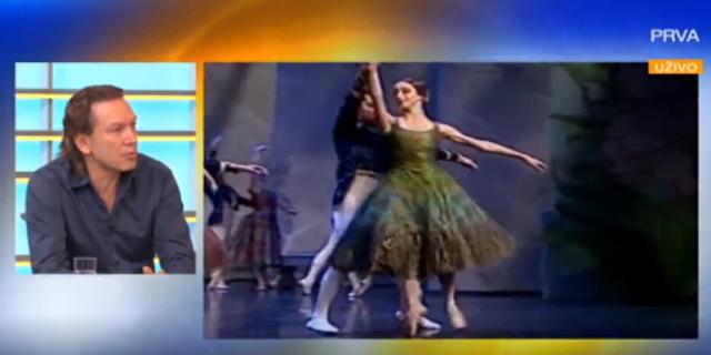 """Balet """"Labudovo jezero"""" na sceni Sava Centra 17. decemrba"""
