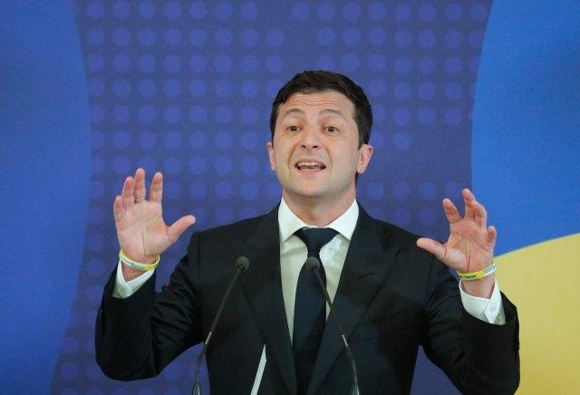 Predsednik Ukrajine posetio vojsku pred mirovne razgovore