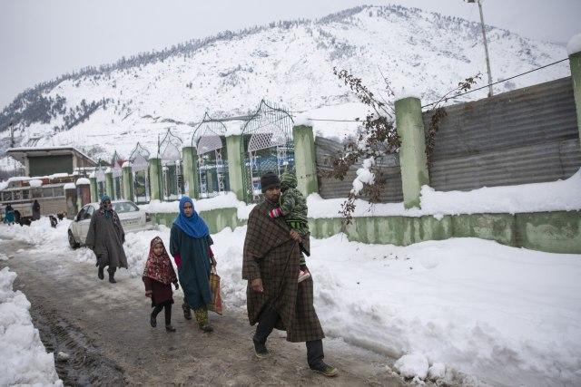 U lavinama u Kašmiru i Avganistanu 126 mrtvih