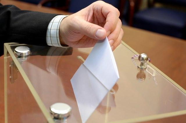 Rezultat slika za Glasački listić biće roze, kontrolni tirkizne boje