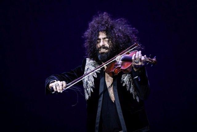 Violinista Ara Malikian nastupa u Sava centru