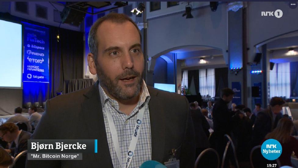Bjorn Bjerki na norveškoj televiziji/NRK