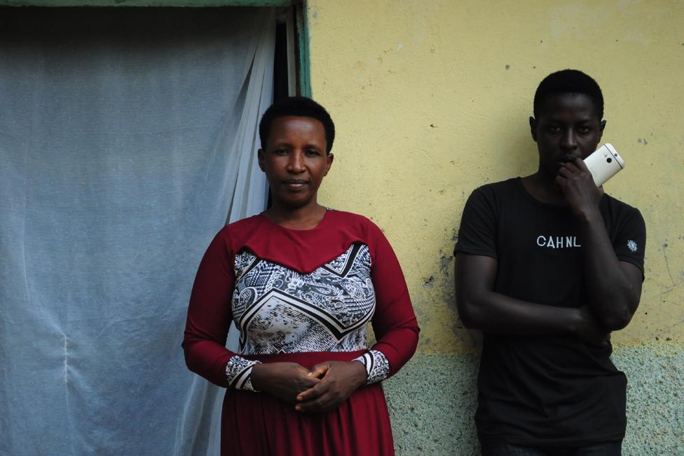 Danijel i njegova majka/BBC