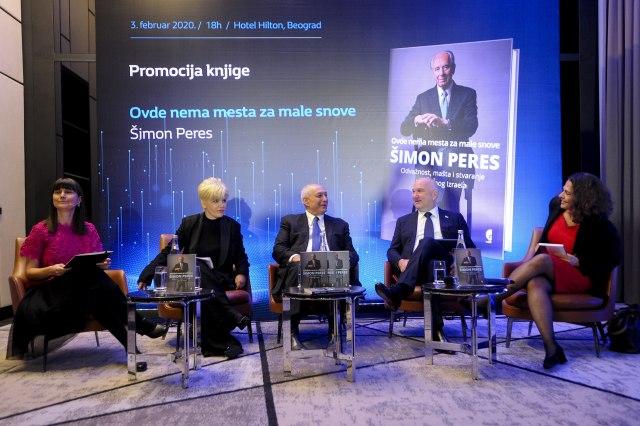 Predstavljena knjiga Nobelovca za mir Šimona Peresa: ''Ovo je bukvar za vođe''