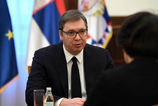 Predsednik Vučić iz Minhena čestitao građanima Dan državnosti