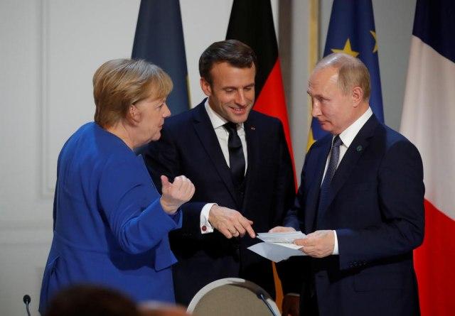 Šta su Marekelova i Makron tražili od Putina