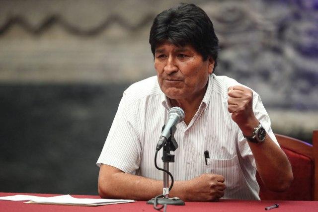 """Moralesu zabranjeno da se kandiduje jer """"ne živi u Boliviji"""""""
