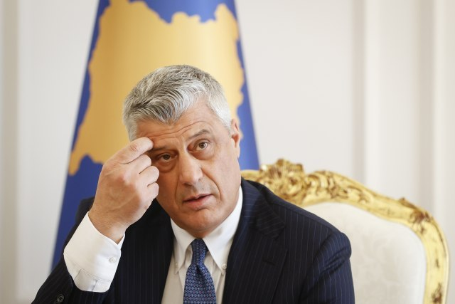 """Tači: """"Ako se nešto desi u pregovorima sa Srbijom, desiće se ove godine. Ako se ne desi..."""""""