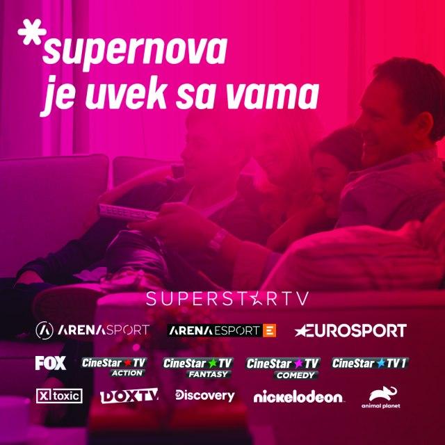 Supernova: Otključani svi kanali za sve korisnike